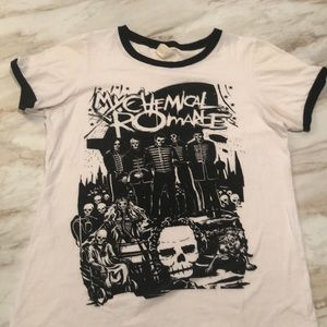 My Chemical Romance Hot Topic Ringer Shirt
